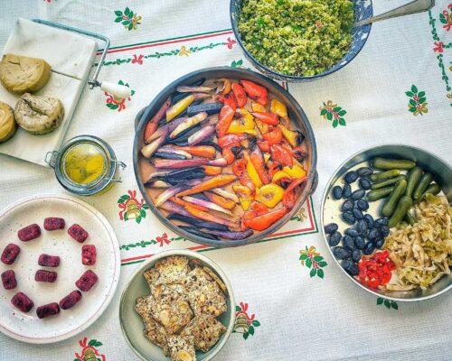 מהטבע לצלחת- קורס בישול טבעוני בוקר